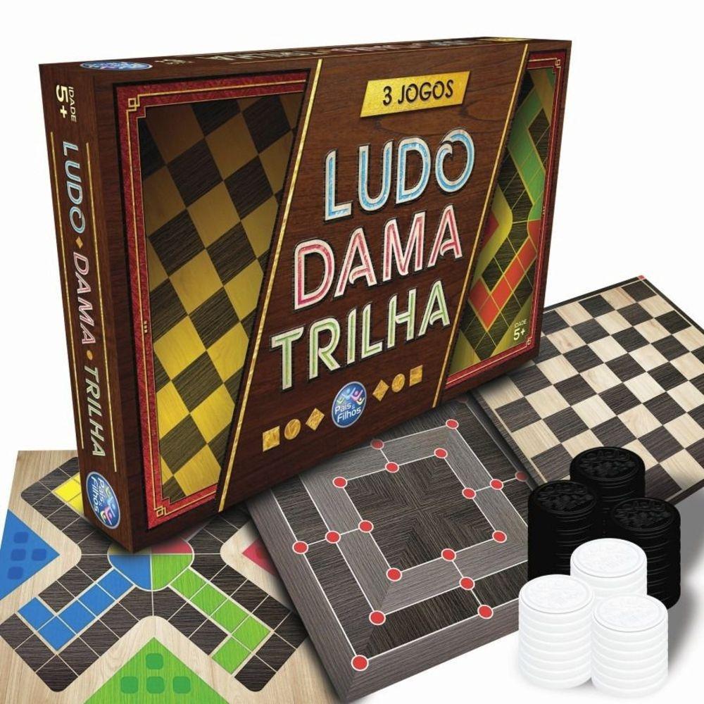 DAMA LUDO E TRILHA