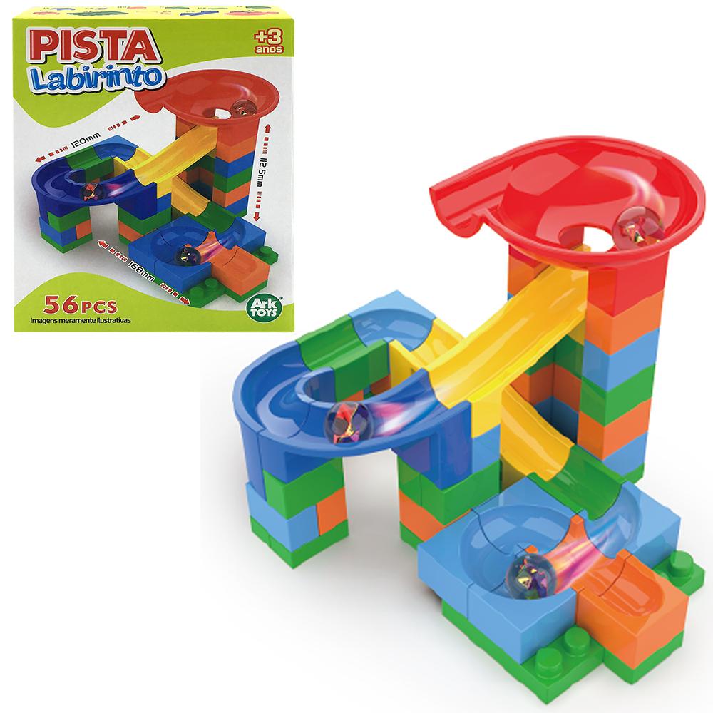 PISTA LABIRINTO COM 56 PCS