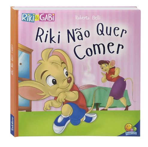 RIKI & GABI - COMPORTAMENTOS: RIKI NAO QUER COMER