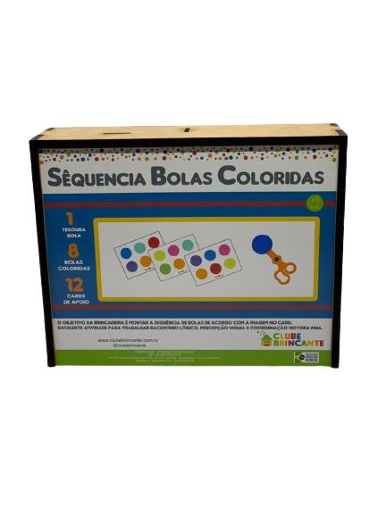 SEQUÊNCIA BOLAS COLORIDAS